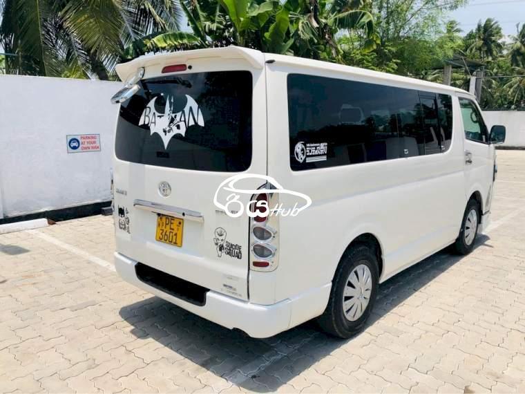 Toyota KDH 2008 Van, riyahub.lk