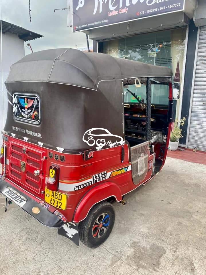 Bajaj RE 4 Stroke 2015 Three Wheel, riyahub.lk