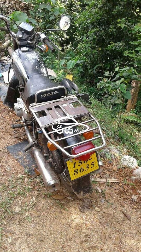 Honda CD 125 Benly 1989 Motorcycle, riyahub.lk