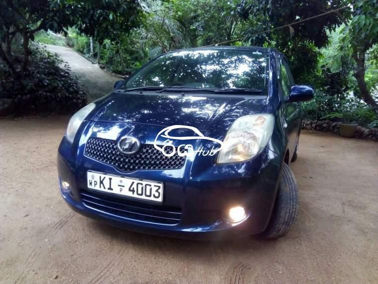 Toyota Vitz KSP90 2006 Car, riyahub.lk