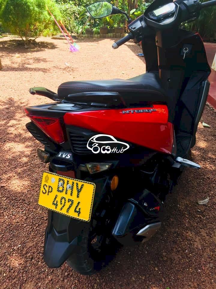 TVS Ntorq 125 2018 Motorcycle, riyahub.lk