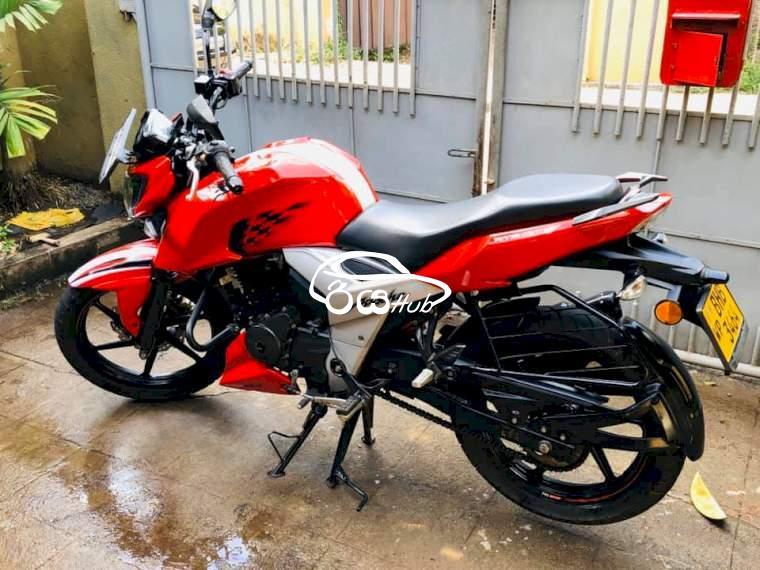 TVS Apachi 160 RTR 4V 2019 Motorcycle, riyahub.lk