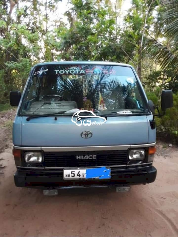 Toyota Hiace Shell 1989 Van, riyahub.lk